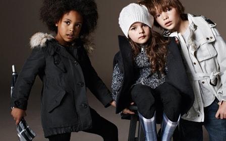 Детская мода зима весна, фото